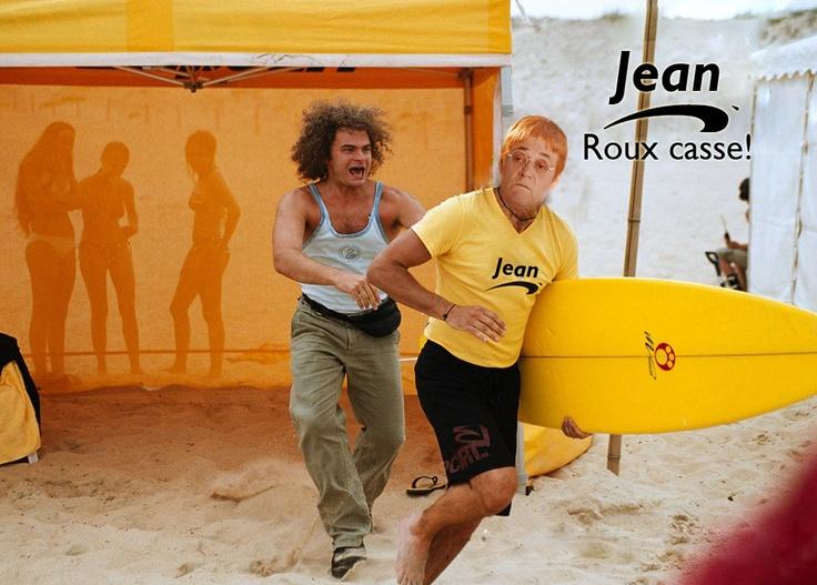 Jean Roucas en roux et en brice de nice ça devient...: Jean Roux Casse !!
