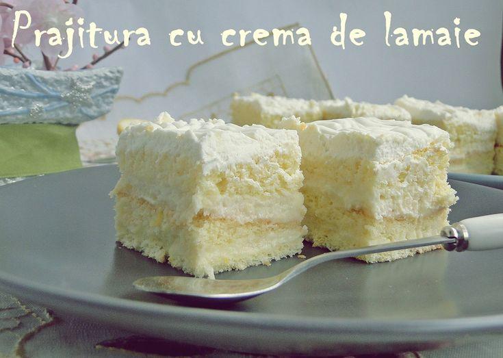 Prajitura+cu+crema+de+lamaie