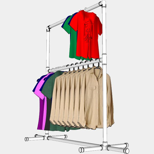 Diy Child Clothes Rack: 208 Best DIY- PVC Pipe Craft Creations Images On Pinterest