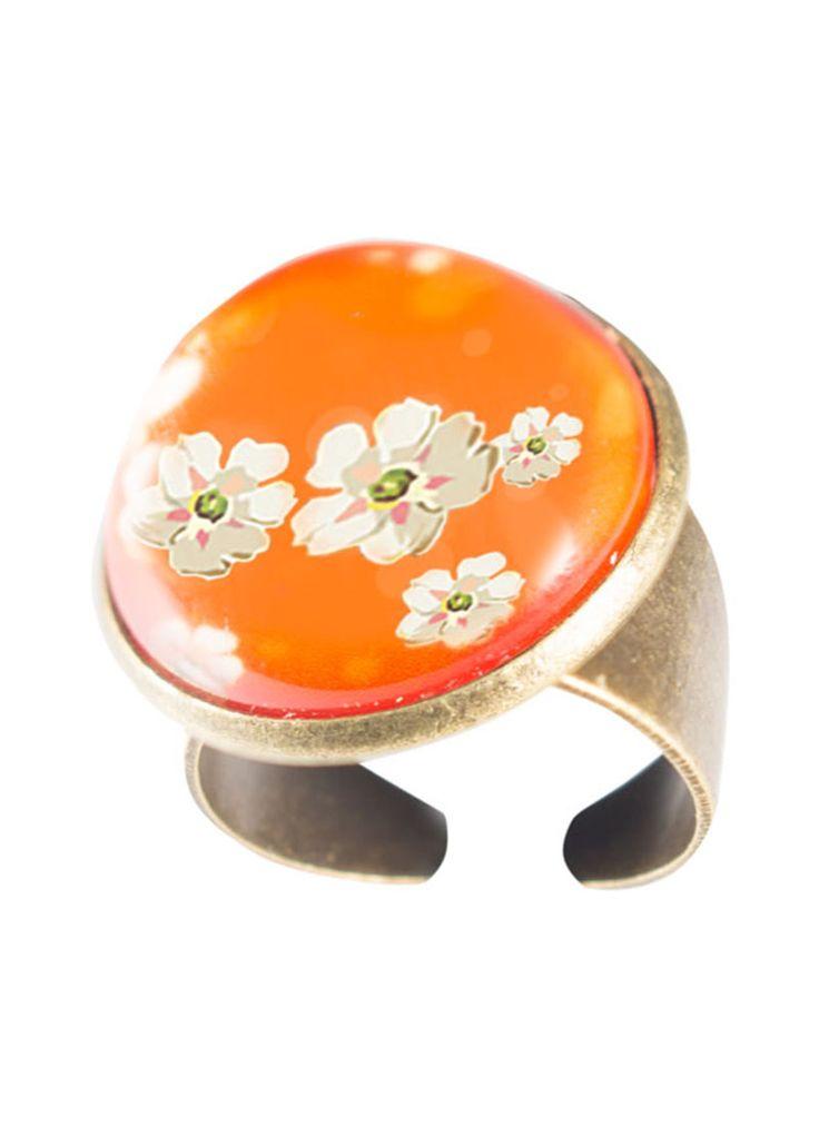 Orange Blossom ring. www.fabuleuxvous.com