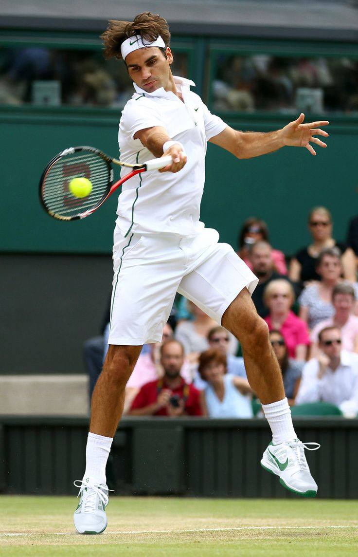 Roger Federer: Wimbledon's Defending Champion  Set your eyes to Roger Federer as he defends his Wimbledon title!