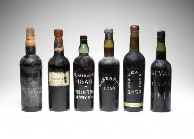 Rare stash of Madeira wine discovered by US museum  https://www.thedrinksbusiness.com/2017/07/rare-stash-of-madeira-wine-discovered-by-us-museum/