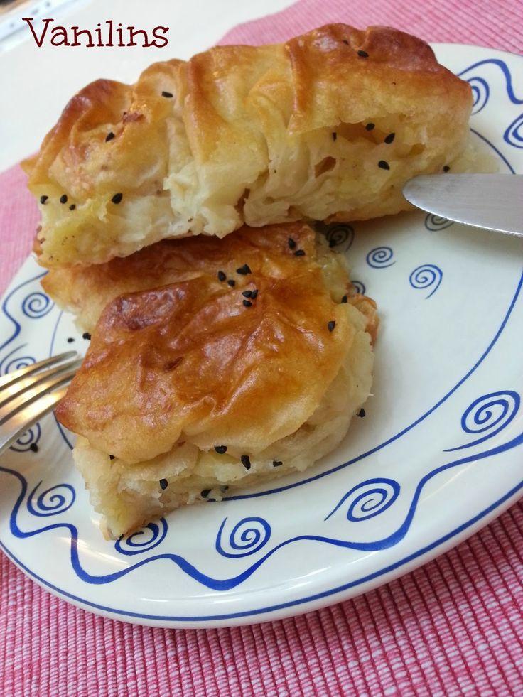 Vanilins: Sodalı börek (patatesli,kaşarlı)