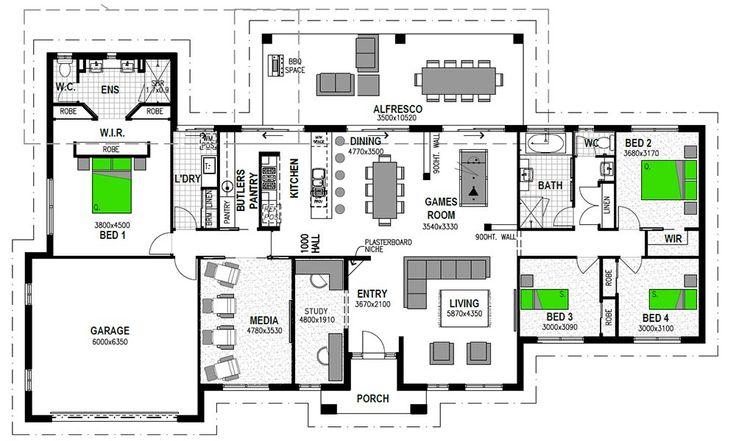 Kentucky 304 Floor Plan Dream Home Pinterest Floor