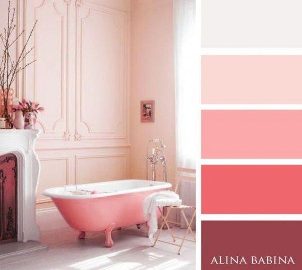15Combinaciones ideales decolores para interiores - rosados