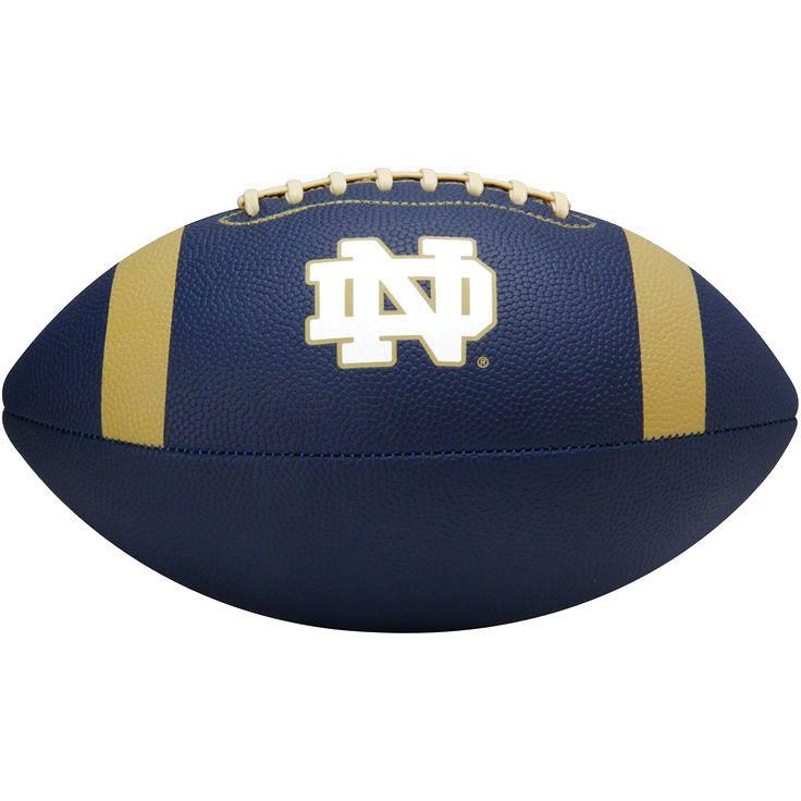 Notre Dame Fighting Irish Under Armour Pee Wee Composite Spongetech Mini Football – Navy Blue - $24.99