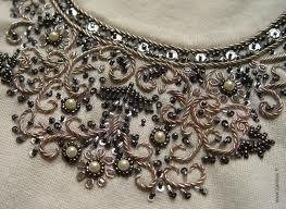 modèle broderie avec perles 11