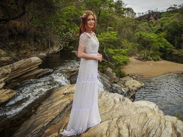 25 melhores ideias sobre vestidos de noiva hippie no