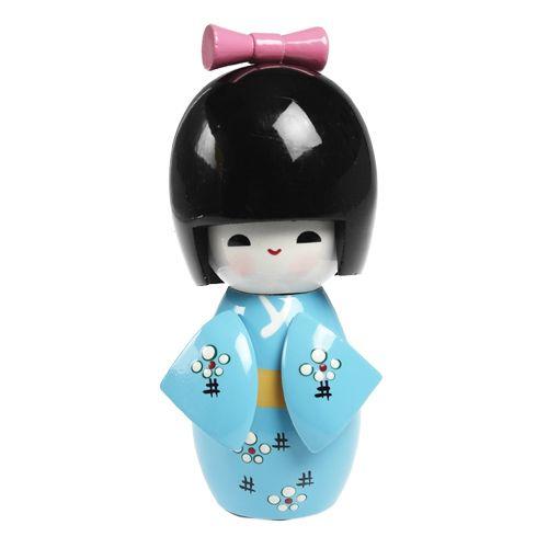 Blue Geisha Girl   DotComGiftShop