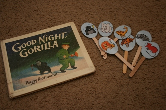 Goodnight Gorilla - for letter G  We LOVE THIS BOOK!!!