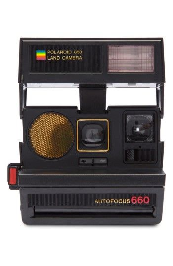 A Polaroid Instant Camera for the nostalgic photographer in your life.
