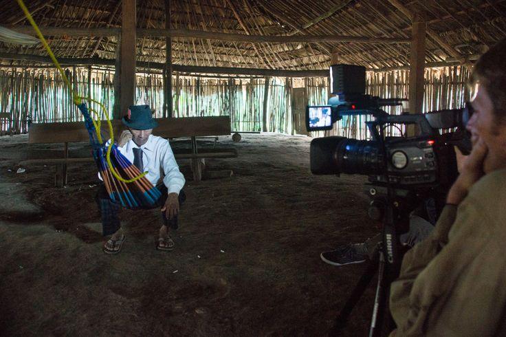 Entrevistando Sahila Kuna