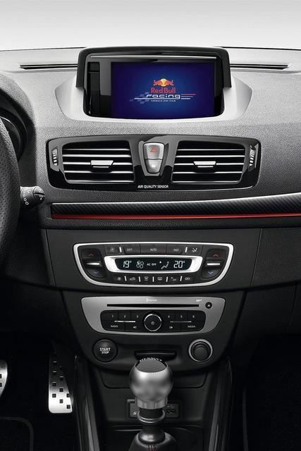 Renault Megane RS Red Bull Racing RB8 interior