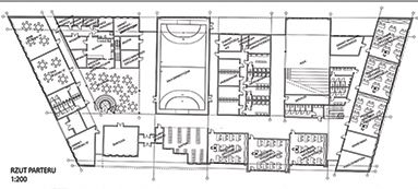 Project of school - plan