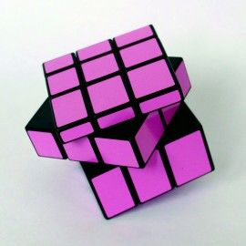 Z-Cube Mirror 3x3 Pink