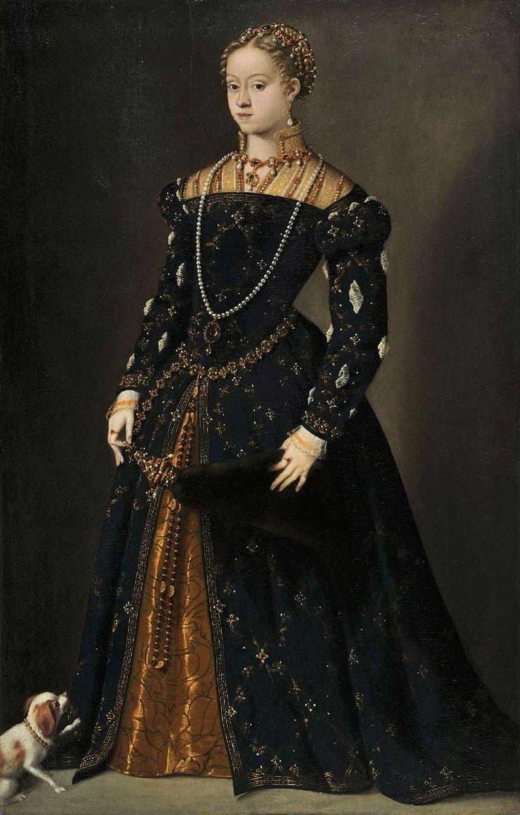 Tiziano Vecellio - Bildnis der Erzherzogin Katharina von Österreich.jpg