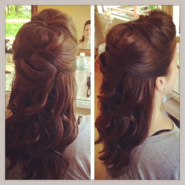 Wedding hair...mother of the groom