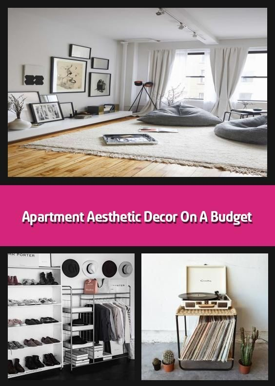 Apartment Aesthetic Decor On A Budget - There are many ...