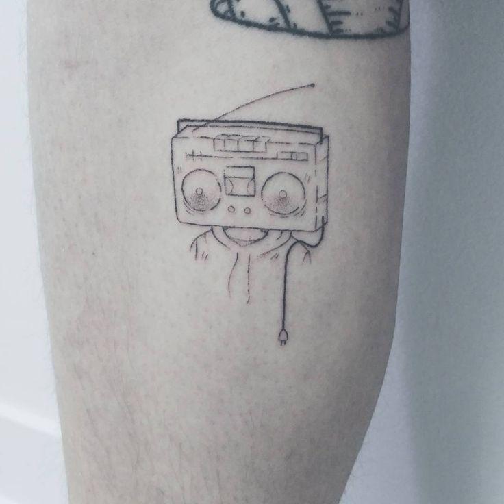 Smol radiohead buddy for Drew. Thanks again