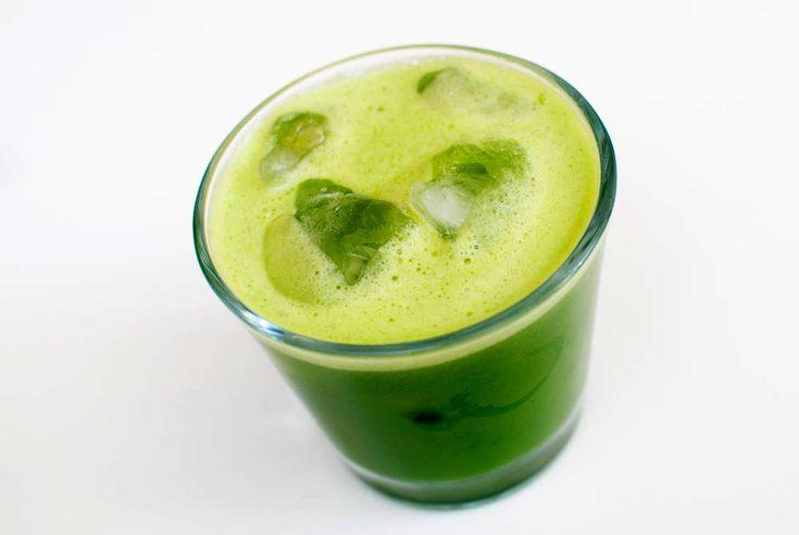 grønn juice oppskrift