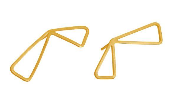 Vitsø Wingsørestikker - Ørestikker i forgyldt sølv - Tinga Tango. #smykker #vitsø #forgyldtsølv#ørestikker#guld
