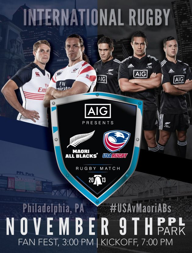 USA v Māori All Blacks