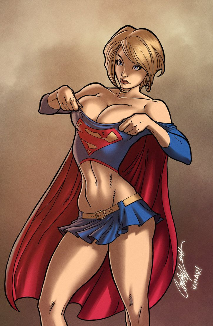 Powergirl wears Supergirl's Uniform by iANAR on DeviantArt