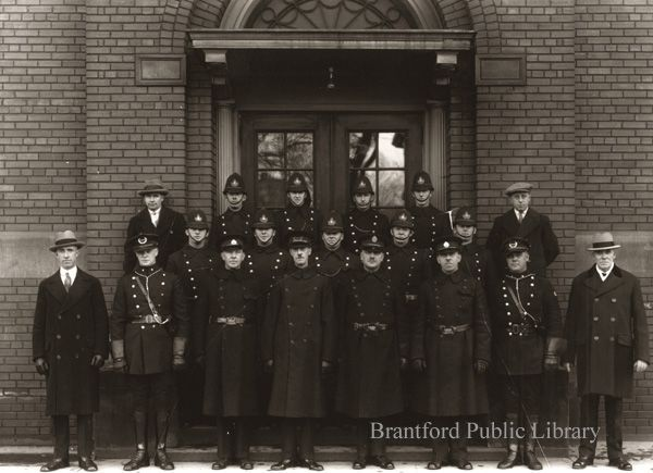 Brantford Police Department 1931