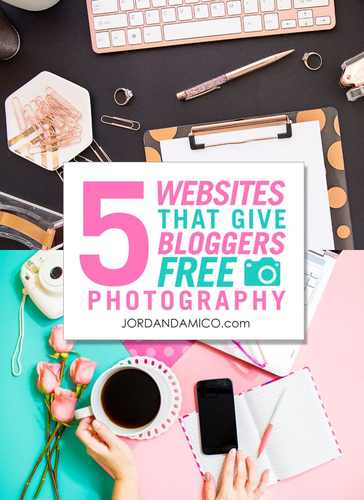 5 websites that give bloggers free professional photography