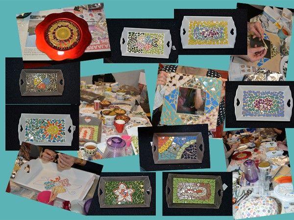 Mozaïekkunst Jolanda Je leert goed en eenvoudig mozaïeken en maakt je eigen kunstwerk.