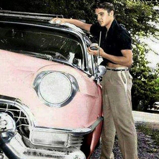 His pink caddillac