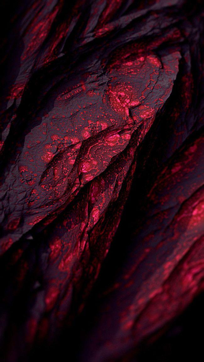 Velvet Fabric Fractal Design Background Red wallpaper