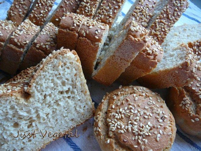 Pan y Bollitos veganos sin gluten