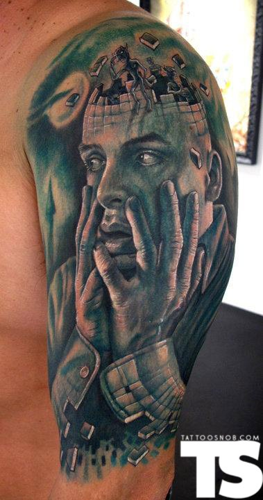 by: Stefano Alcantara at Last Rites Tattoo in New York City, NY