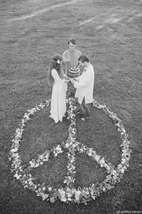Peace in the world.  Accepting everyone, Allowing everyone to marry whom they love.  Respect.