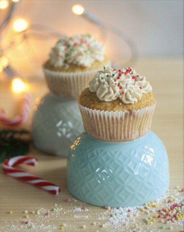 Weihnachtliche Gewürz – Cupcakes #weihnachten #weihnachtsrezept #cupcakes #zimt