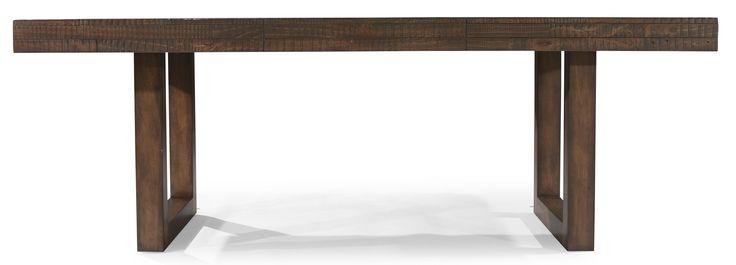 Portland Rectangular Sled Base Pedestal Table by Legacy Classic - Baer's Furniture - Dining Room Table Miami, Ft. Lauderdale, Orlando, Sarasota, Naples, Ft. Myers, Florida