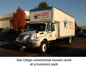 As some of the best San Diego commercial movers, we work extra hard to make sure there is little to no downtime when you are moving your business to a new location. Our San Diego commercial movers work evenings and weekends to minimize any disruption to your business.