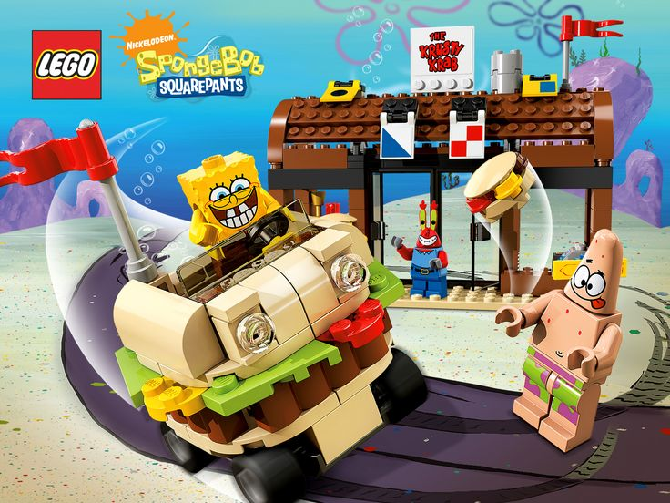 lego duplo spongebob