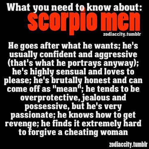 Scorpio Men Traits | Scorpio Quotes