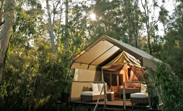paperbark camp -Just 2.5 hours' drive south of Sydney, Paperbark Camp is the ultimate in fine camping