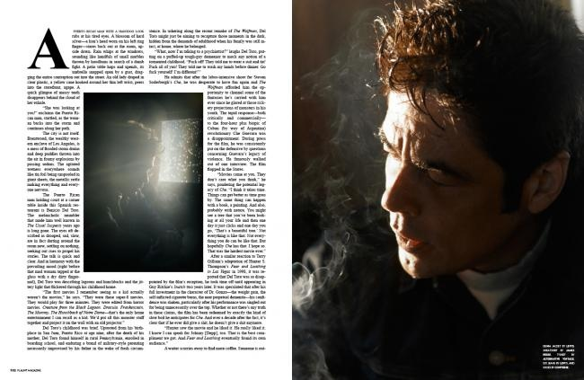 The Feral Nature of Benico Del Toro and the Impossibilty of Man