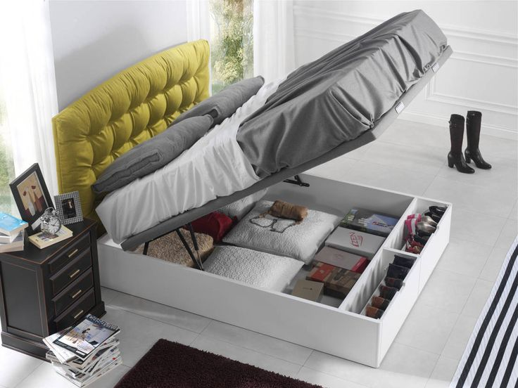 Beds & headboards by ECUS