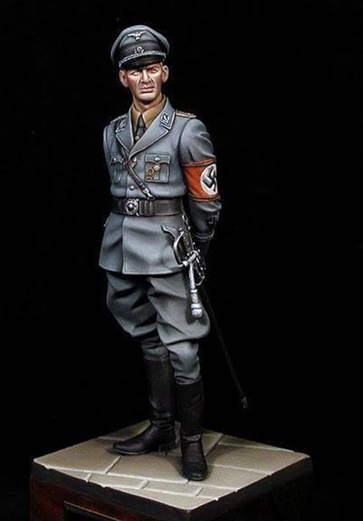 I chose this because in the book there are lots of German Gestapo officers like this one.