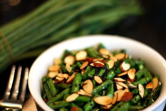 Dinner Veggie: Green beans with roasted almonds | Recipes - Veggies ...