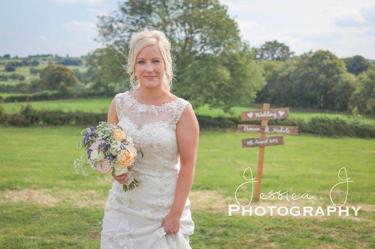 Beautiful Bride #yorkshire #yorkshirewedding #nidderdale #bride #mrs #marqueewedding #wedding #weddingsign