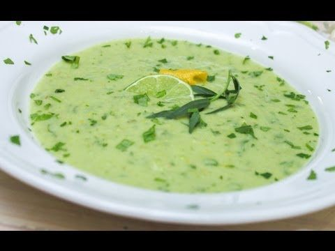 Avocado Gazpacho Soup Recipe | Recipes | Pinterest