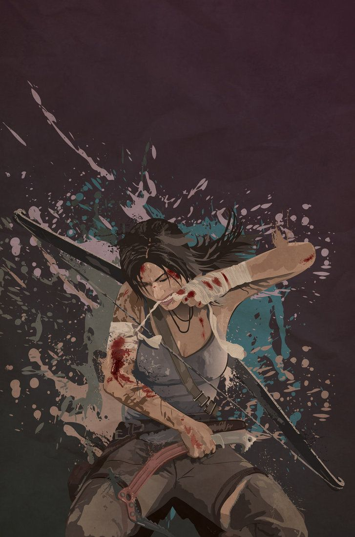 Lara Croft - Tomb Raider - Mik4g.deviantart.com