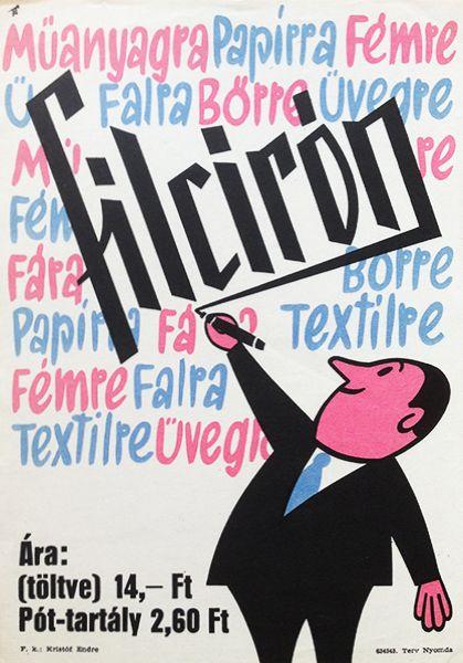 Felt-tipped Pen (Kassowitz, Félix - 1963 - cca. 17 x 24 cm) - 160 USD at Budapest Poster Gallery
