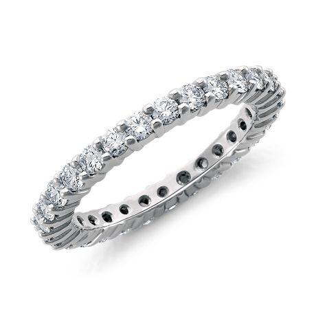 Diamond Eternity Ring in Platinum (1 ct. tw.)